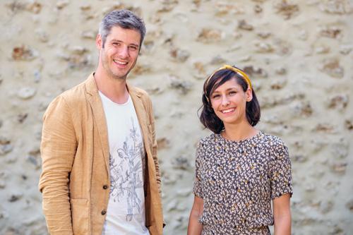 Alice Laurent et Antoine Horlait de Maison Saman