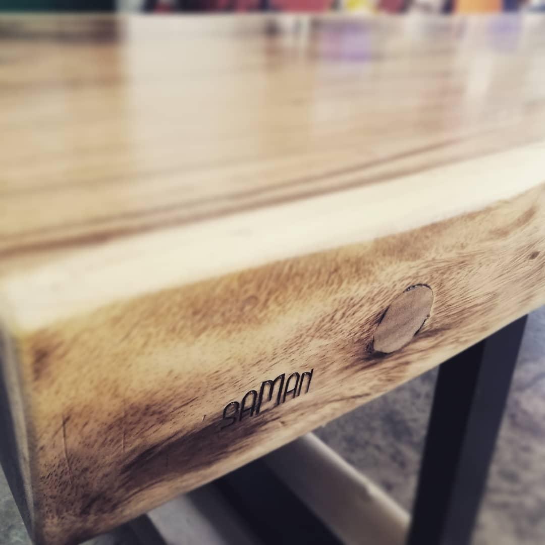 detail plateau table a manger suar maison saman