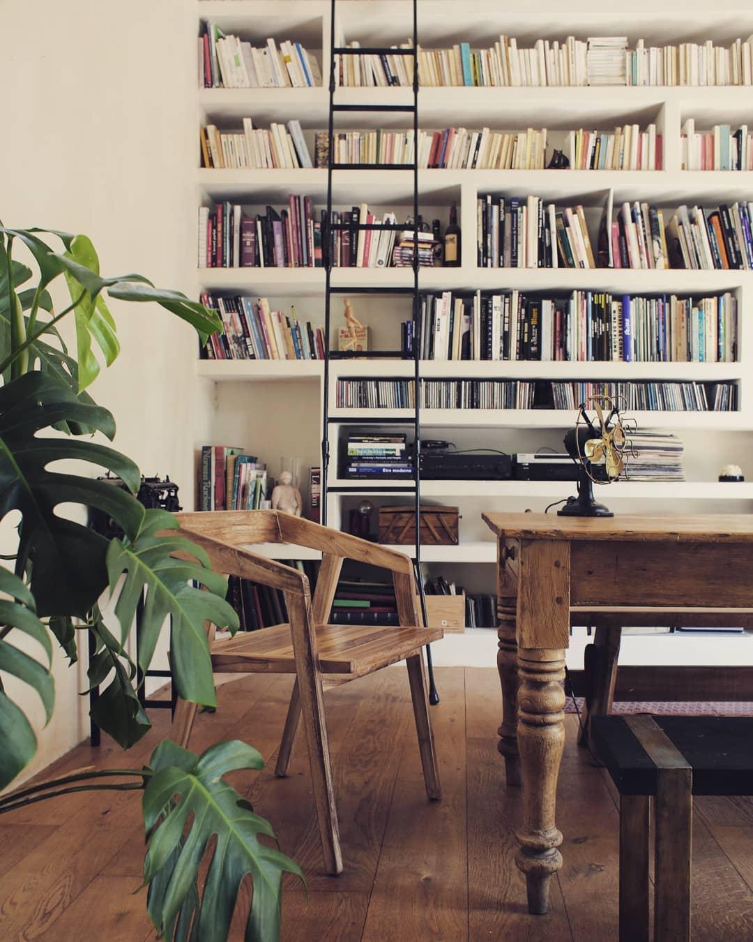 salon chic maison saman mobilier bois massif deco