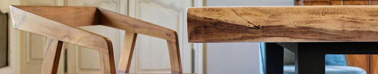 table en suar et fauteuil teck