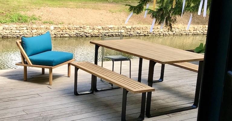 mobilier outdoor sur mesure