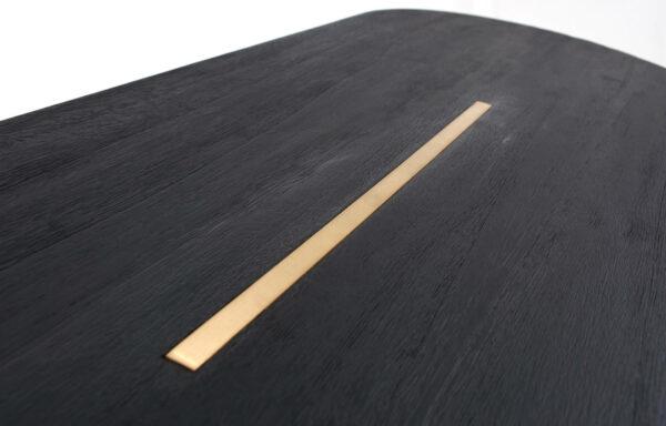 banc-décoratif-entrée-table-basse-guéridon-table-appoint-bois-massif-bois-brûlé-yakisugi-shou-sugi-ban-laiton-pieds-compas
